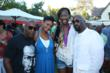 (L-R): John Singleton, Kimberly Elise, Destinee Hooker, and C.O. Brown (RFHF Board Member) (photo credit: Arnold Turner / Reed For Hope Foundation)